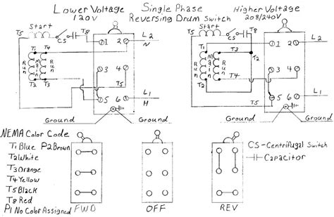 reversing drum switch wiring diagram wiring diagram with