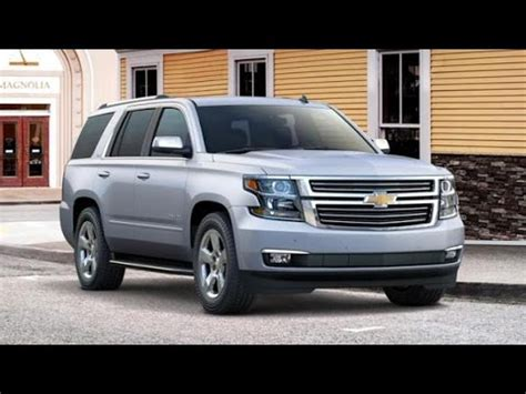 2017 chevrolet tahoe review rendered price specs release