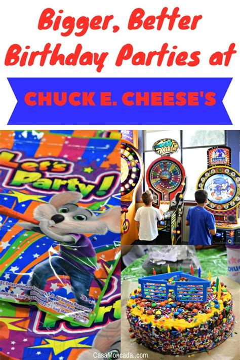 Bigger Better  Ee  Birthday Ee   Parties At Chuck E Cheeses