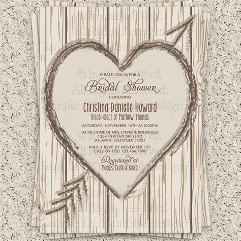 free printable bridal shower invitations rustic wonderful rustic wedding shower invitations theruntime com