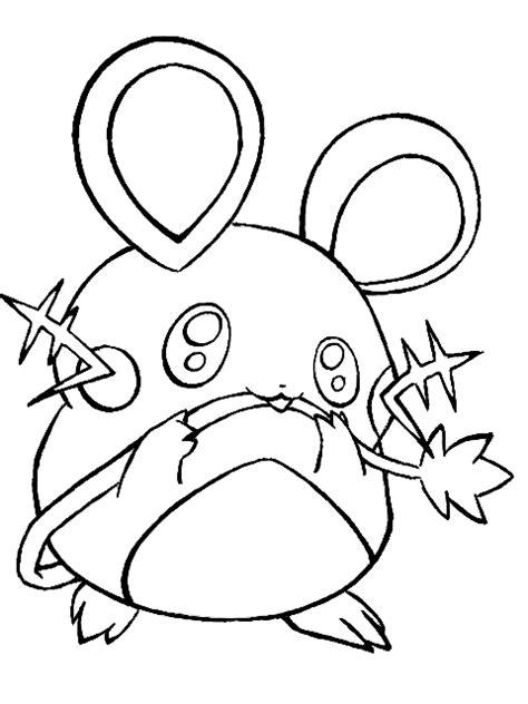 pokemon coloring pages dedenne zeichnung dedenne pok 233 mon fanart