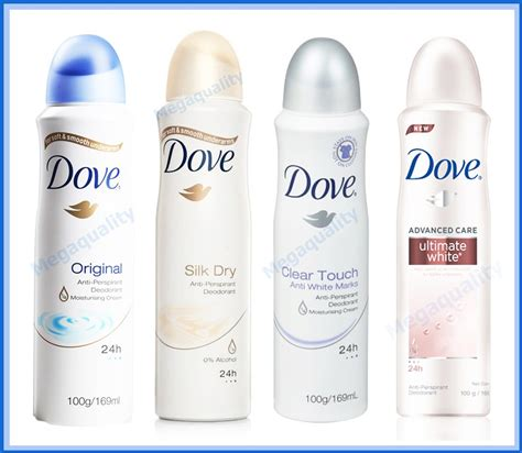 Deodorant Dove Whitening dove whitening anti perspirant deodorant spray 169 ml ebay