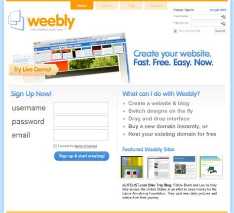 cara membuat website gratis terbaik cara membuat website com gratis dengan weebly di niagahoster