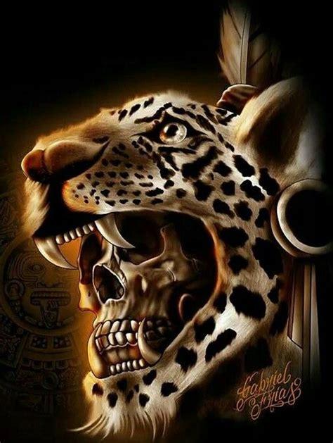 mayan jaguar warrior jaguar warrior skull skulls skeletons
