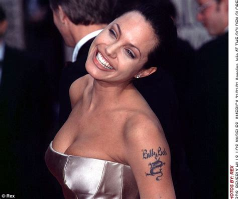 tattoo angelina jolie billy bob requests for tattoo removal increased by more than 300
