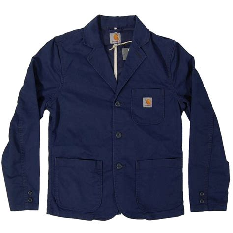 light blue womens carhartt jacket carhartt sid blazer jacket lamar sub blue mens jackets