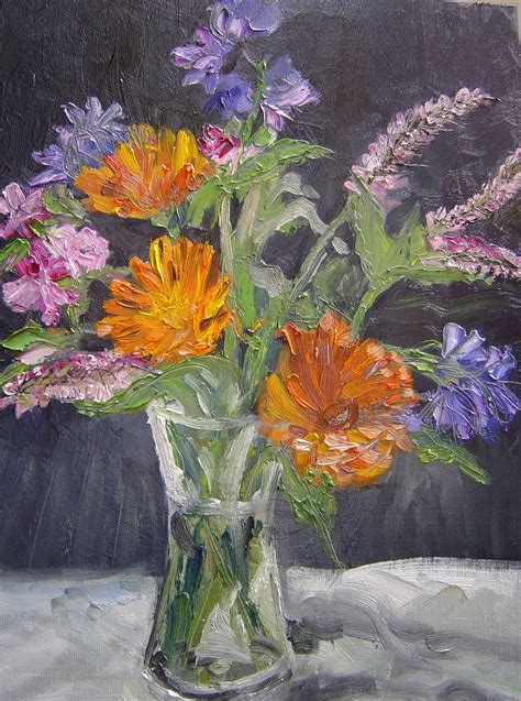 Flowers From The Garden Project 6 Manet Late Flower Paintings Mydiy Degree