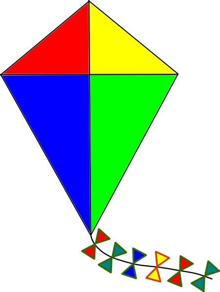 Clipart Kite kite clip at clker vector clip royalty free domain