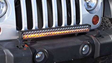 Led Light Bar Jeep Wrangler Lazer Led Light Bar Outfitted Jeep Wrangler