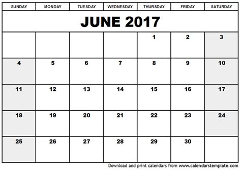 large printable june calendars print blank calendars