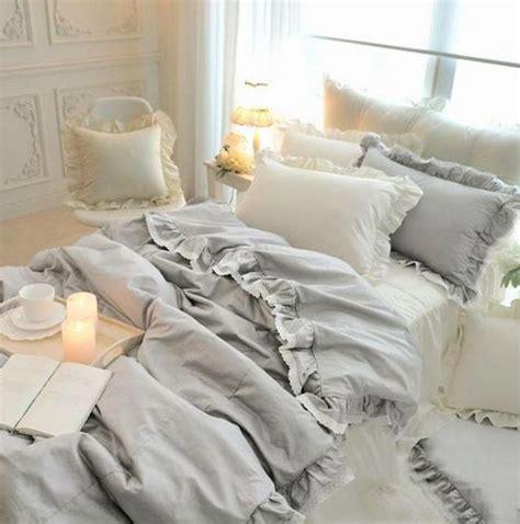girls full comforter set or teen queen bedding reversible princess ruffle lace cotton bedding set teen girl twin