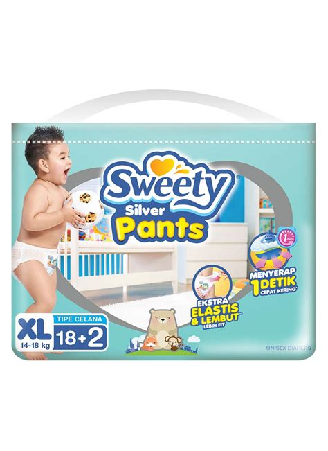 Sweety Fit Pantz Xl34 sweety fit silver baby 18 2 s bag extralarge klikindomaret