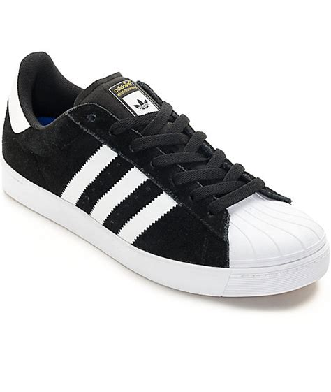 adidas superstar vulc adv black white shoes at zumiez pdp