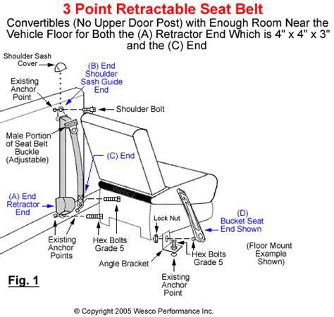 seat belt installation 3 point seat belt installation 1965 mustang convertible