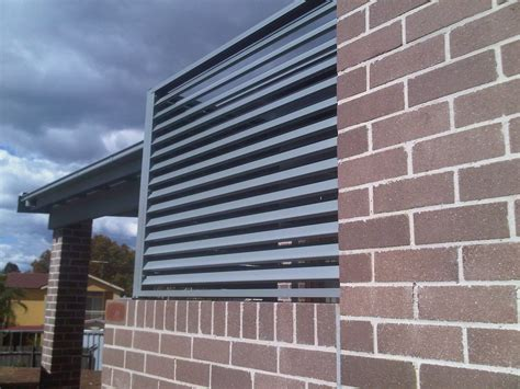 Aluminium Shade Awnings by Carbolite Aluminium Window Shades Illawarra Blinds And