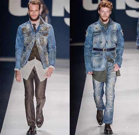 tng  winter mens runway denim jeans fashion week