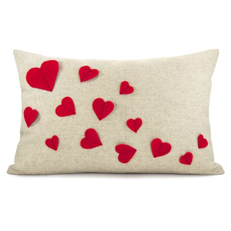 Handmade Pillow Ideas - 20 charming handmade s day pillow designs