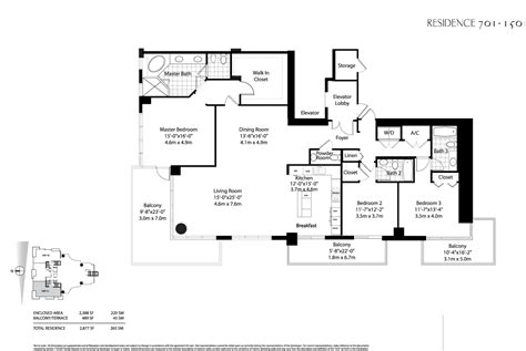 floor plan key asia brickell key floor plans