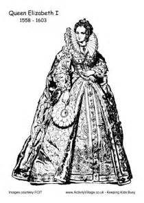 coloring pages elizabeth 1 elizabeth i colouring page 2 oktouse sca youth