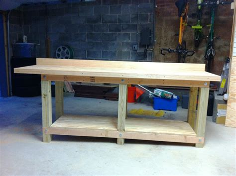 cool bench ideas cool garage workbench ideas plans home designs home