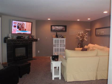 awkward living room layout help with my living room with corner fireplace and long