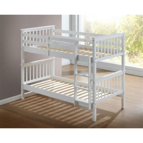 white wooden bunk beds with drawers artisan white wooden bunk bed frame children bunk bed