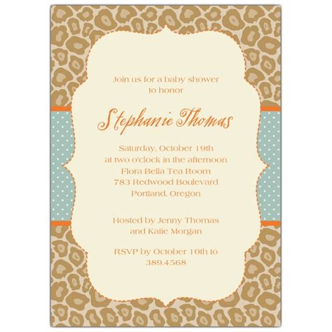brown baby shower invitations dots and spots brown baby shower invitations paperstyle