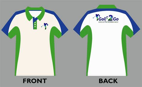 design a polo shirt template vector polo shirt design template for golf2go golfer
