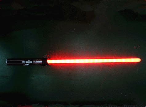 color change lightsaber wars anakin to darth vader color change lightsaber