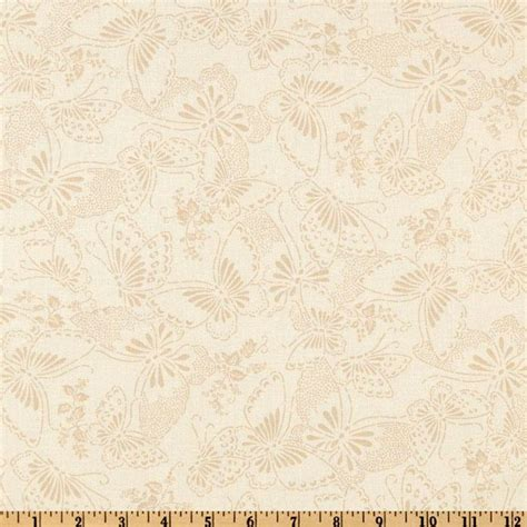 Wide Back Quilt Fabric by 110 Quot Wide Quilt Backing Butterfly Taupe Discount Designer Fabric Fabric