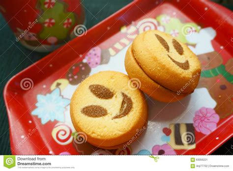 healthy new year cookies cookies smile stock photo image 63056221