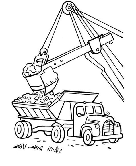 coal car coloring page dump truck coloring pages loading coloringstar