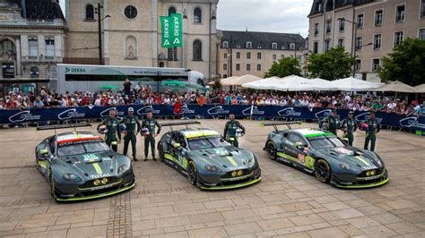 aston martin racing set for 24 hours of le mans fight