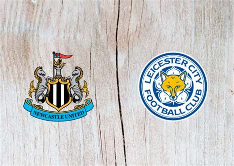 newcastle united  leicester city highlights  september