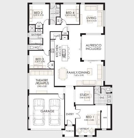 plano de casa de un piso 005jpg 10 dise 241 os de casas de una planta construye hogar