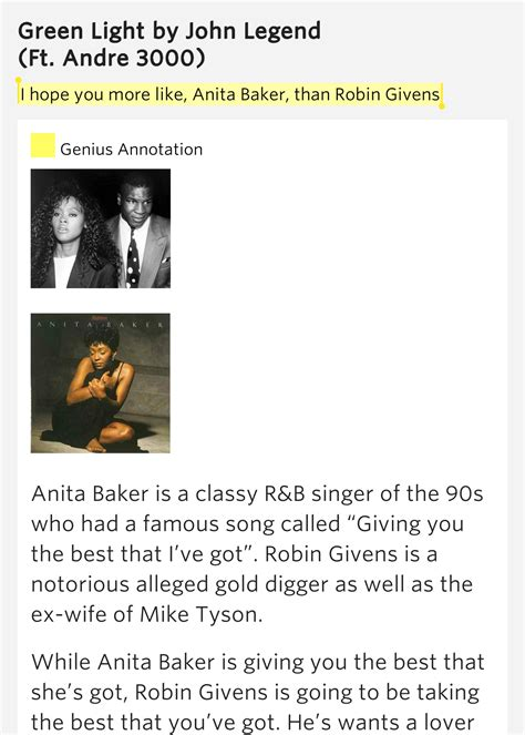 john legend green light i hope you more like anita baker than robin givens