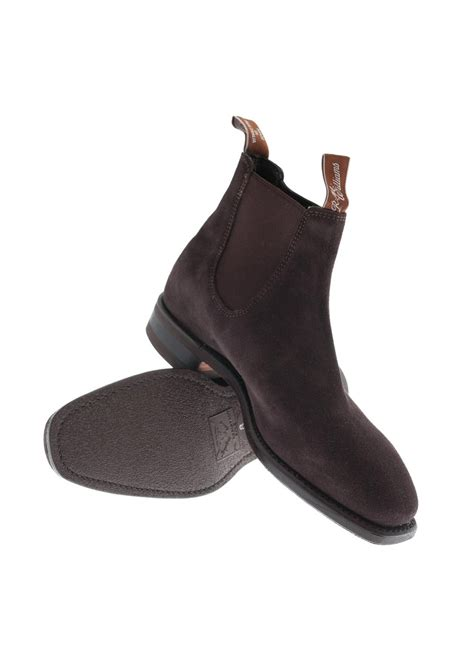 rm williams comfort craftsman rm williams suede comfort craftsman boots a hume