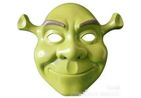 printable shrek mask free shipping animated cartoon shrek masquerade halloween