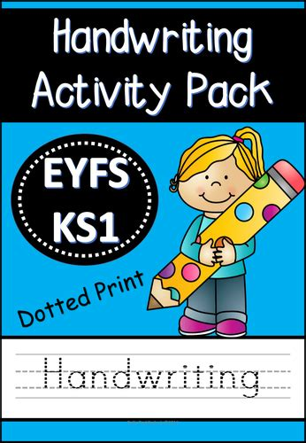 printable version of eyfs handwriting mega activity pack by pollypuddleduck
