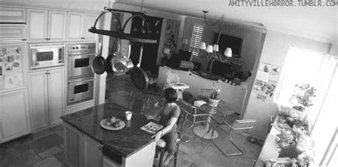 kitchen gif black and white animated gif