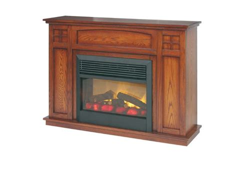 amish electric fireplace insert amish mission style electric fireplace