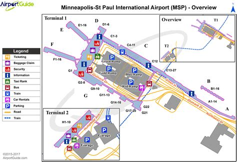 msp map msp airport map map2