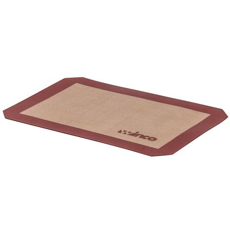 Silicone Mats For Baking by Winco Sbs 16 Half Size Baking Mat Silicone Non Stick