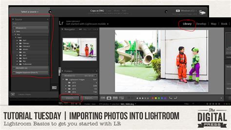 lightroom tutorial import tutorial tuesday importing photos into lightroom the