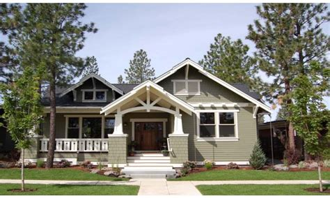 Craftsman Style House Plans One Story by Craftsman Style House Plans Single Story Craftsman House