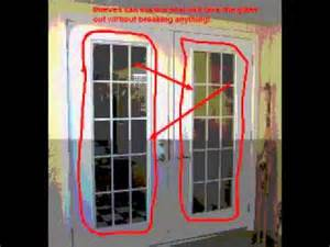 Security Bar For French Doors - 7 ways to secure your exterior doors youtube
