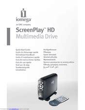 Iomega Screenplay Hd 500gb Manuals