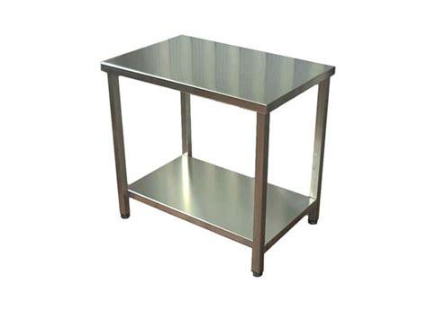 tavoli in acciaio tavoli in acciaio mancabelli craft and design
