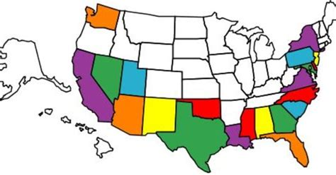 free interactive us map for website here is a map of all of the states i visited this
