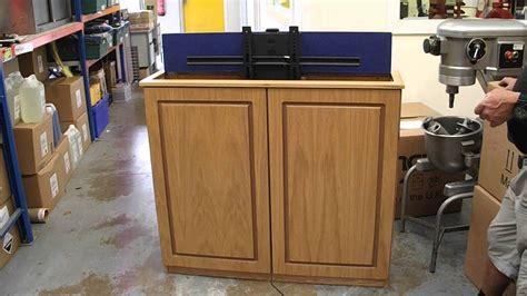 pop up tv flat screen tv cabinet